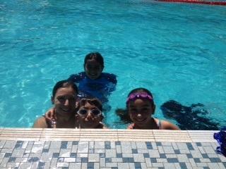 Swimming public pool